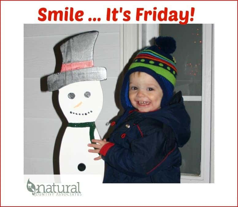 SnowMan Smile It's Friday Natura; Dentist Associates